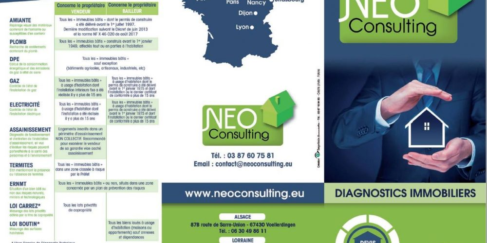 Nouvelles plaquettes Neo Consulting !